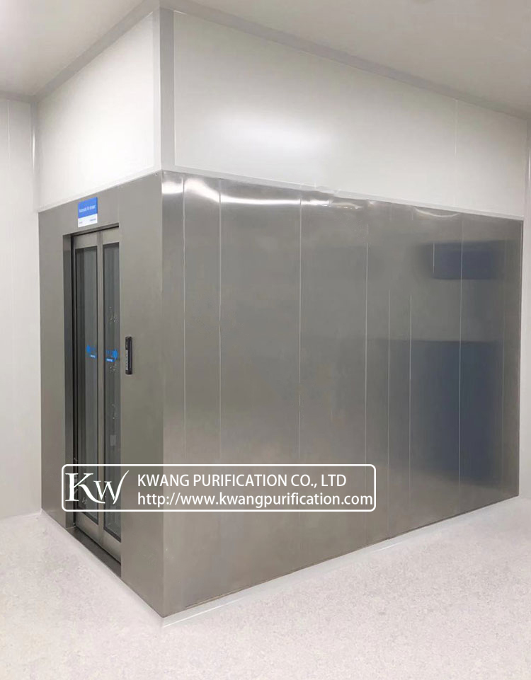 Air Shower Room for Application in Lithium-ion Battery Plant