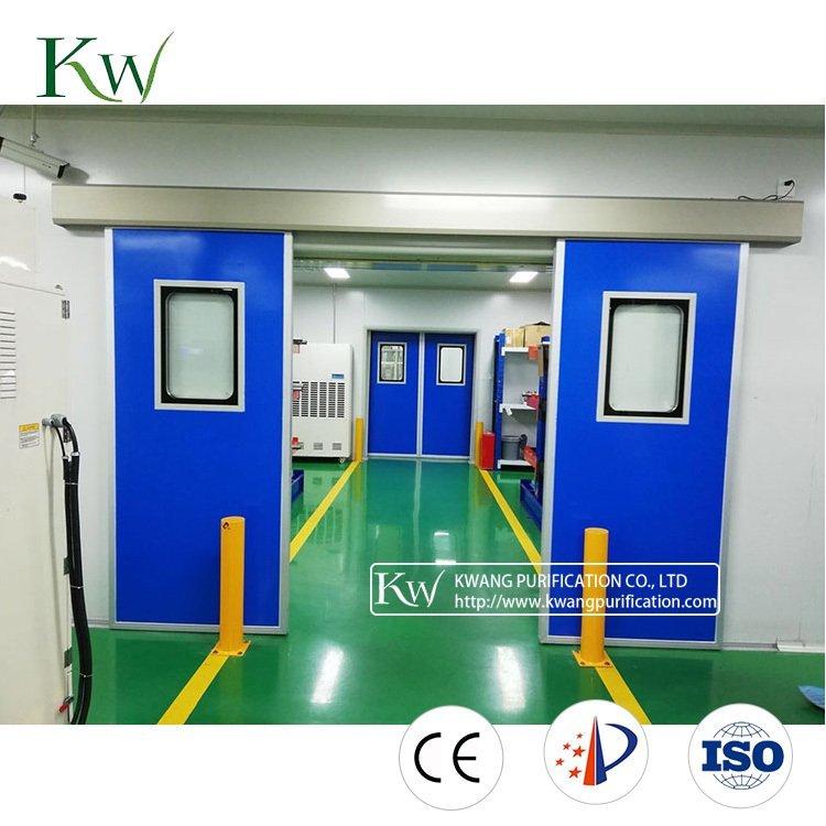ICU Magneo Sliding Cleanroom Door