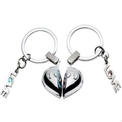 女朋友礼物:创意发声情侣钥匙扣