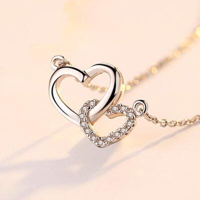 女友礼物:心心相印女士项链