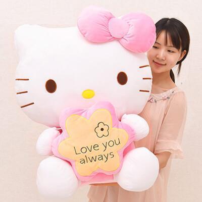 女友礼物:Hello Kitty毛绒公仔