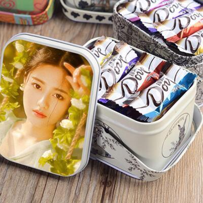 女友礼物:定制照片德芙巧克力礼盒