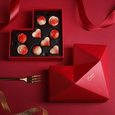 送女朋友的礼物: 怦然心动巧克力礼盒