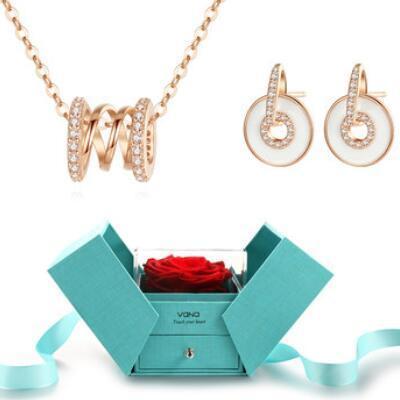送女朋友的礼物:网红小蛮腰轮回项链