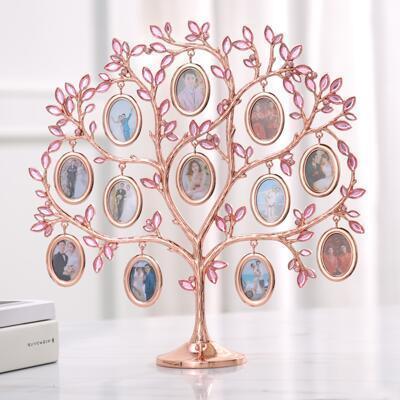 女友礼物:定制照片爱心树相框