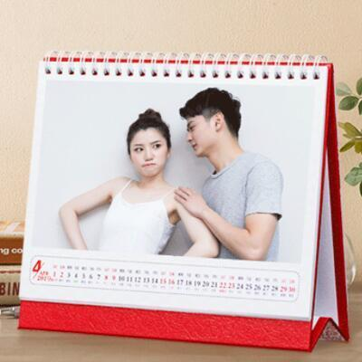女朋友的礼物:个性定制台历