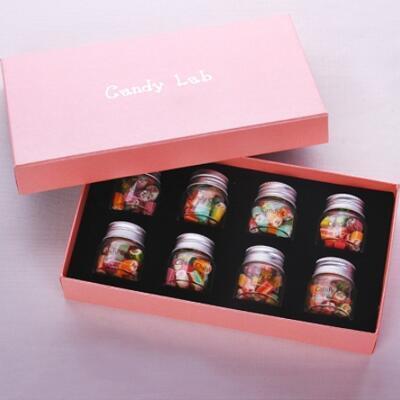 女友礼物:创意手工切片糖果粉黛礼盒