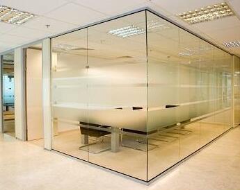 玻璃隔断正确的清洗方法