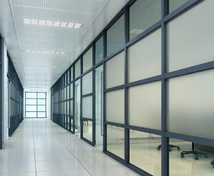 玻璃隔断墙保养
