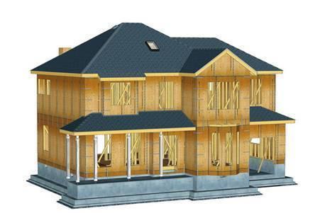 防腐木木屋外墙形态
