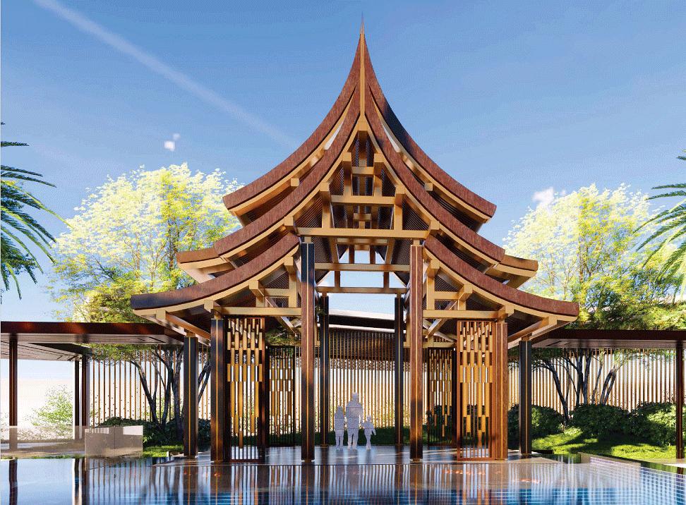 防腐木木屋厂家案例设计图