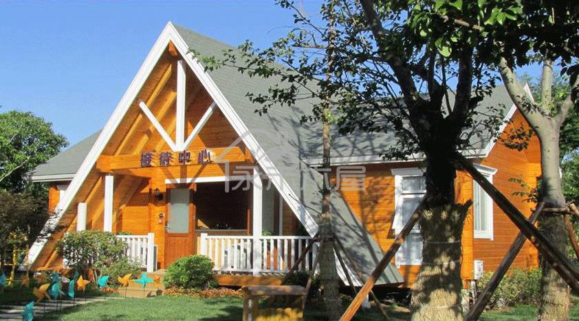 防腐木木屋别墅厂家设计图片