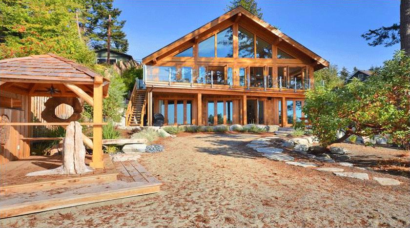 别墅木屋设计图片