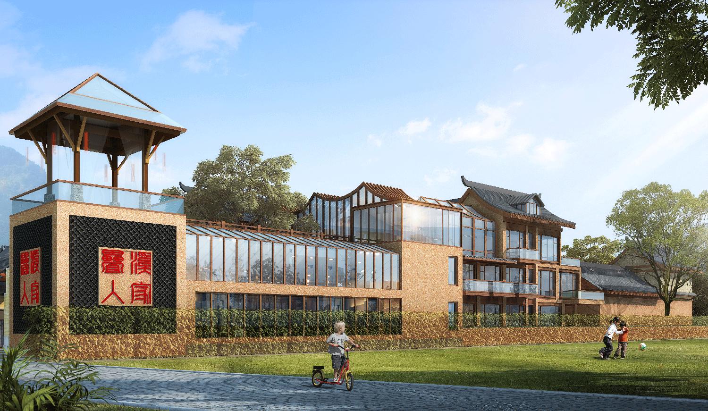 木屋别墅厂家项目图