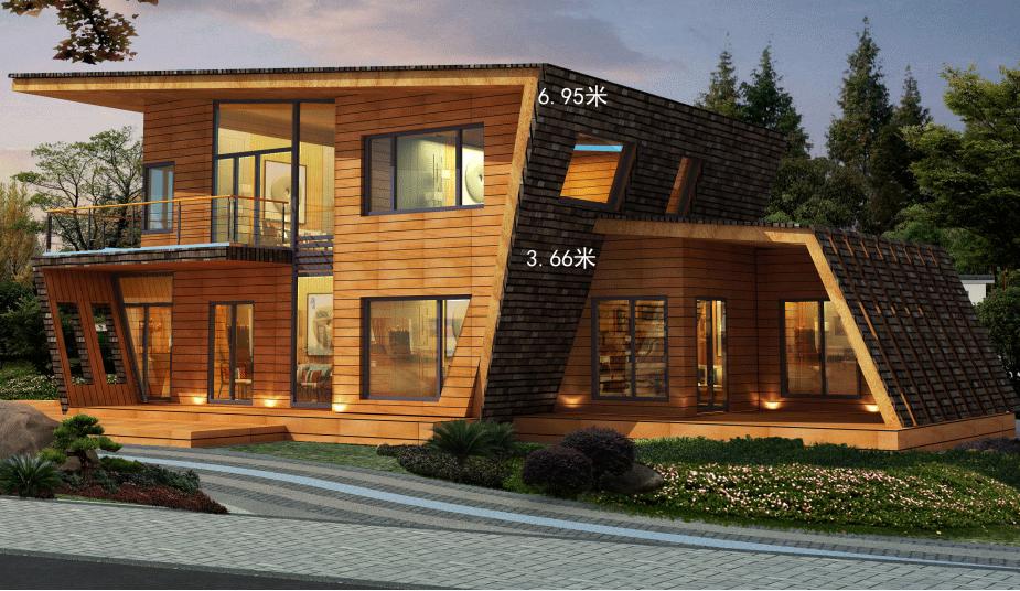 木屋别墅公司案例图片