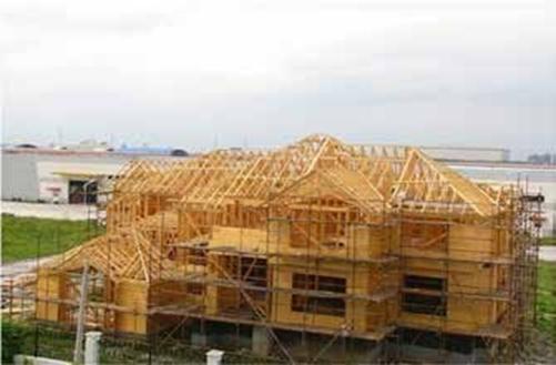 木屋批发厂家木构屋顶桁架示意图