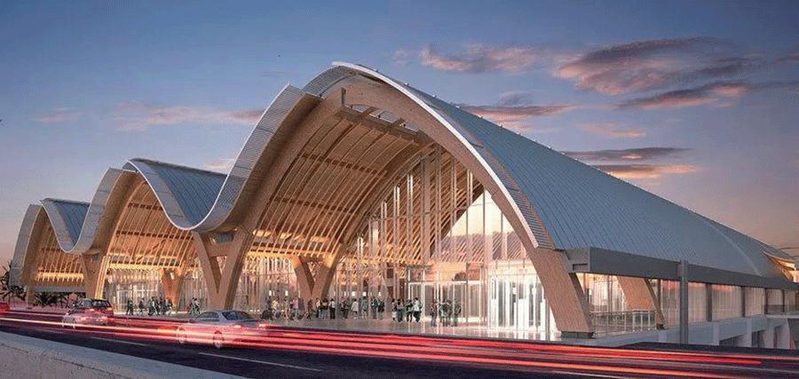装配式木结构机场