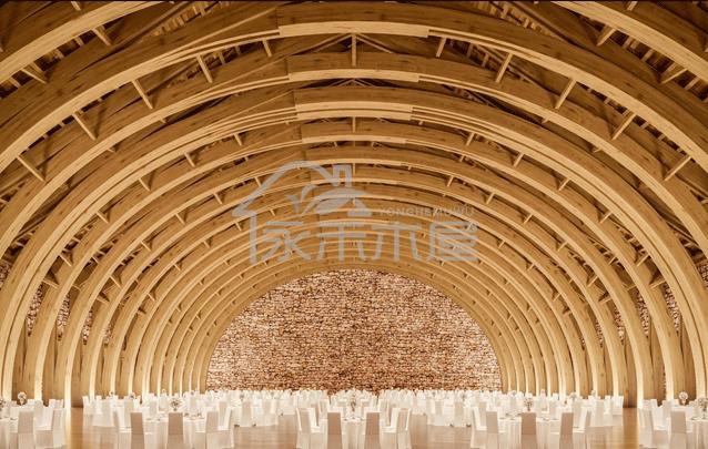 木别墅生产厂家云南会议中心木结构会议室
