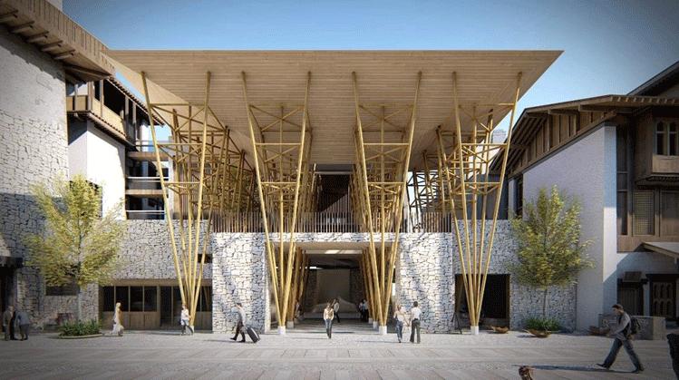 木质建筑项目图片