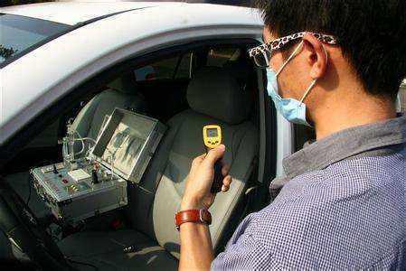 专业汽车空气检测设备展示