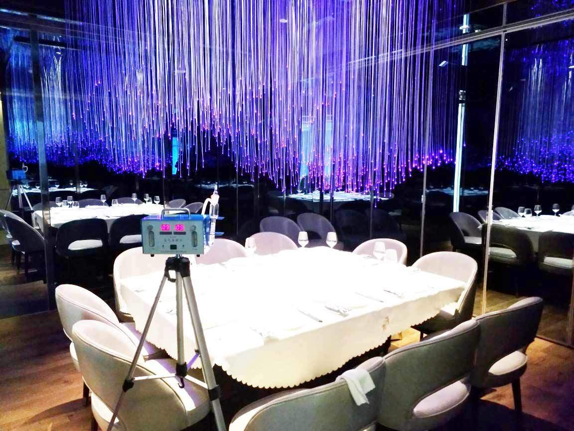 CMA室内空气检测蒲悦餐厅案例