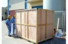 木包装箱施工现场