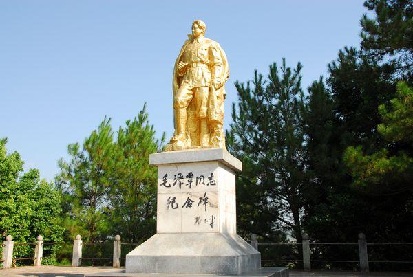 瑞金红色教育基地——毛泽覃烈士纪念塔
