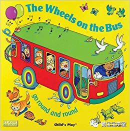 【玩绘本】The Wheels on The Bus