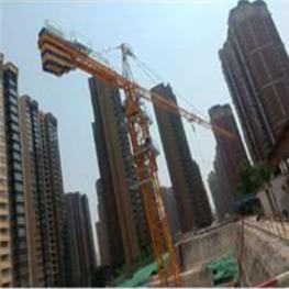 中联tc7035大型塔吊附着方案