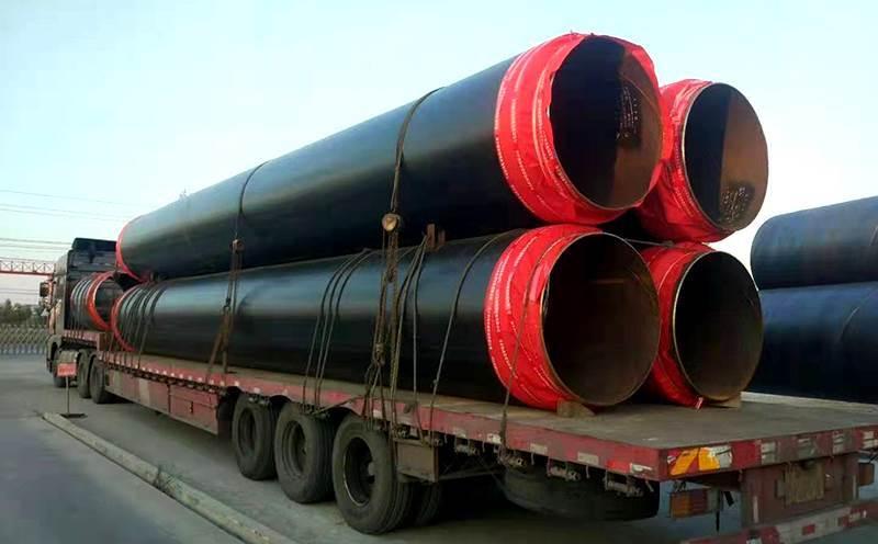 地埋式聚氨酯泡沫保温钢管