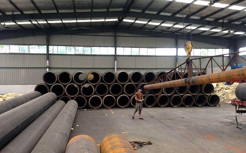 热力工程直埋聚氨酯发泡保温钢管