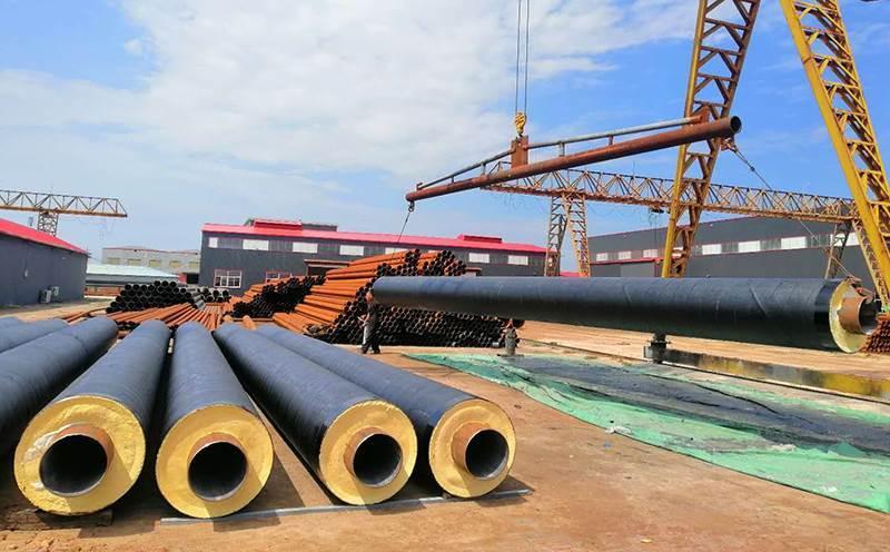 热力供暖用聚氨酯保温钢管厂家