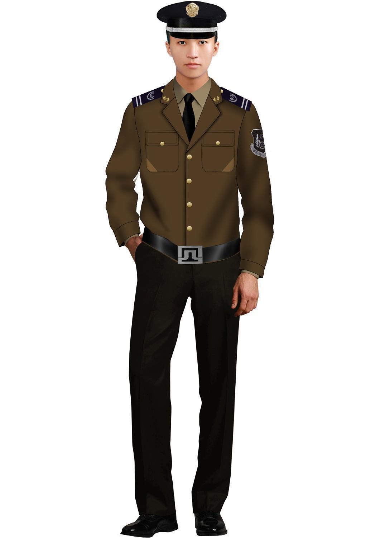 贵阳正规保安服装_哪里可以定做保安服