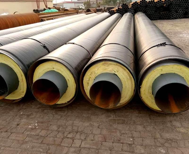 高温管道用钢套钢保温螺旋钢管