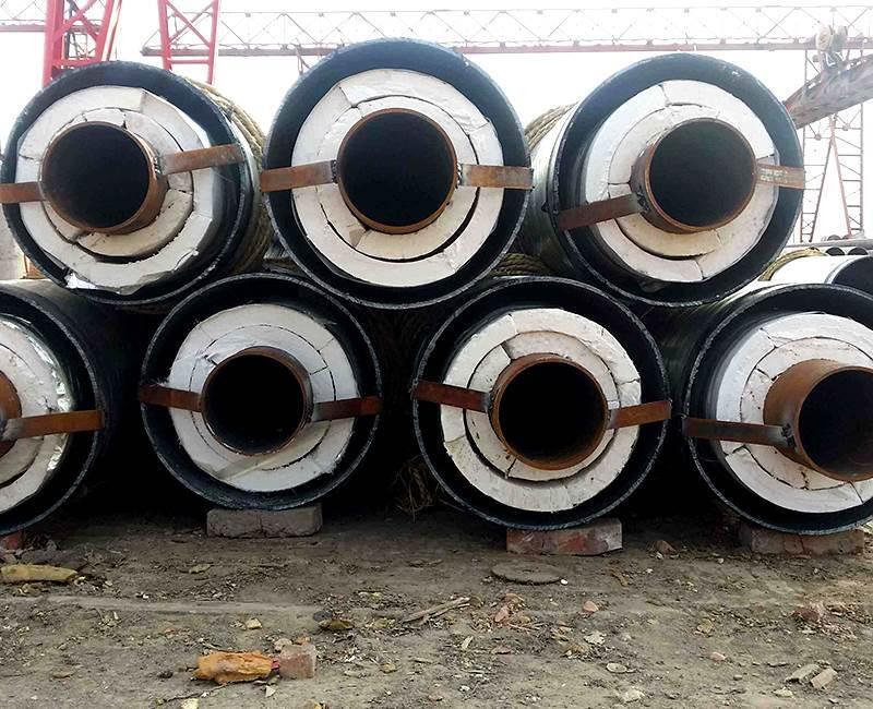 电厂蒸汽输送钢套钢保温钢管