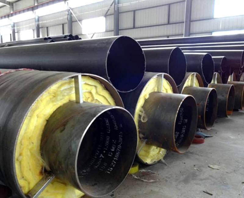聚氨酯蒸汽复合钢套钢保温管厂家