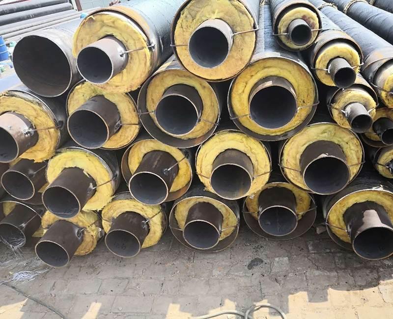 钢套钢直埋复合保温钢管厂家