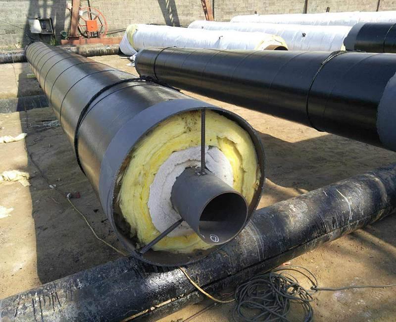 供热用钢套钢保温钢管价格