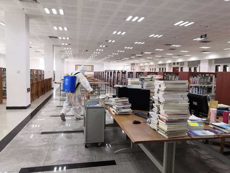 某学校图书馆消杀案例