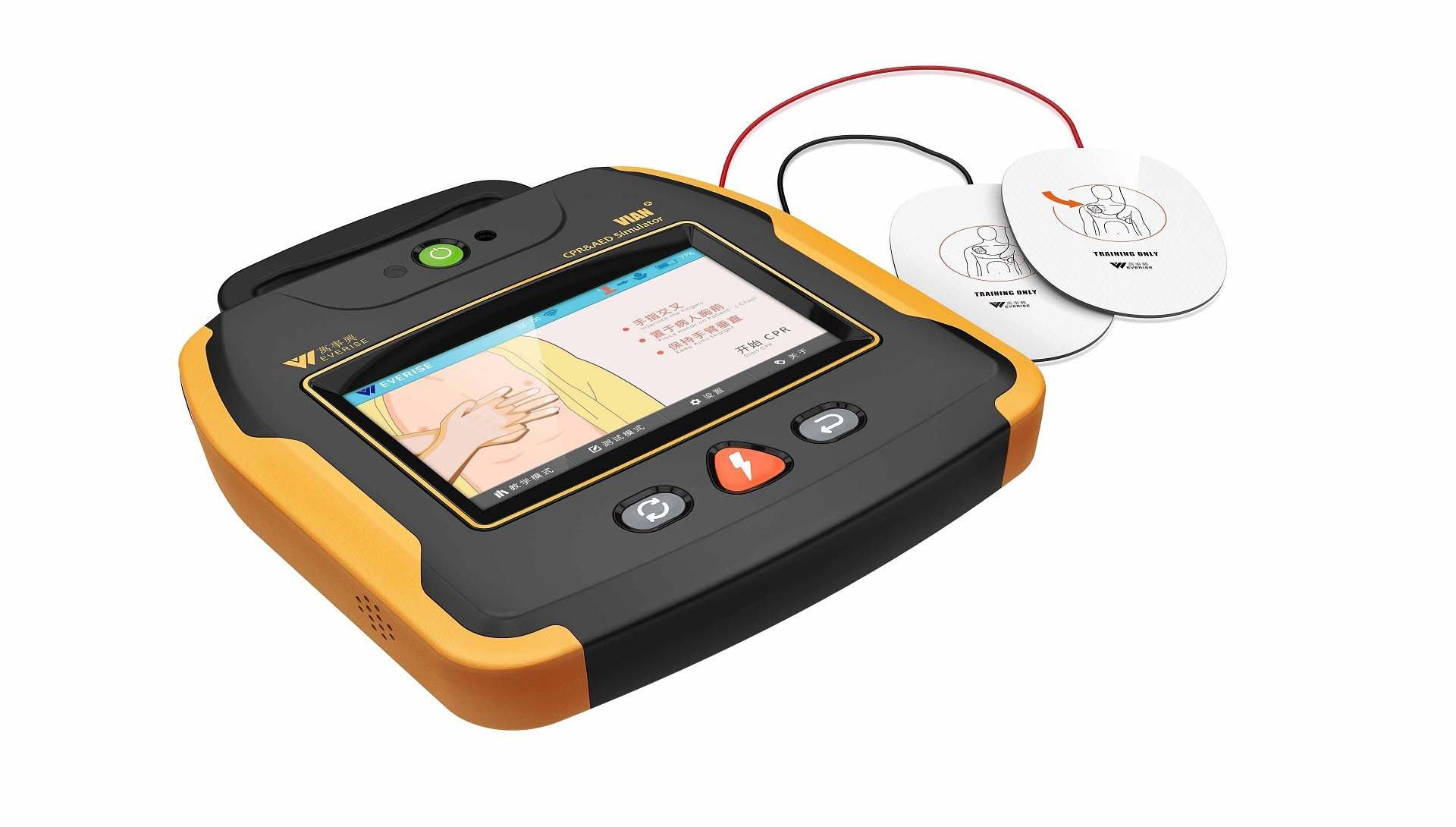 业内首款智能化CPR训练机诞生记