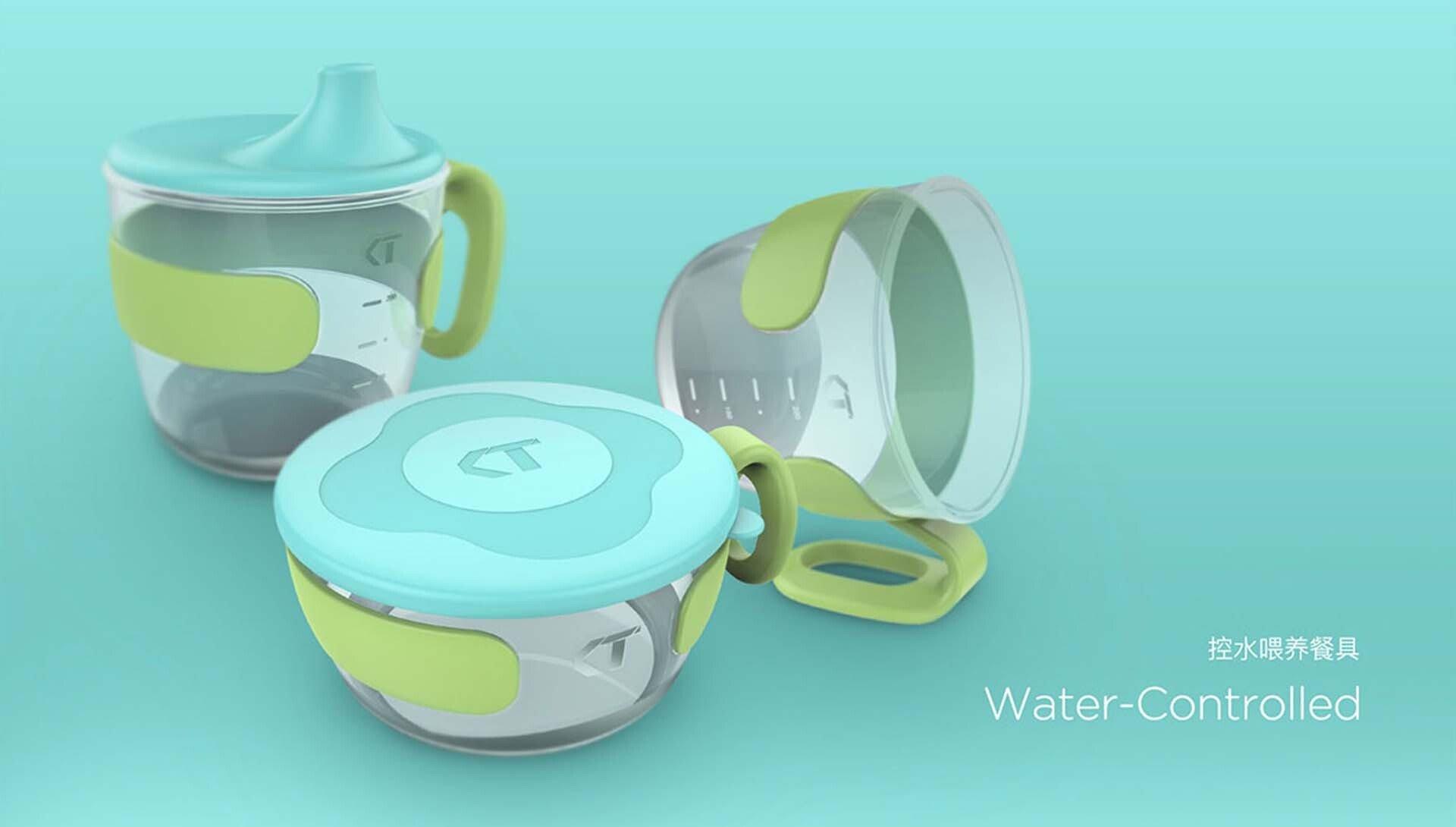 控水喂养餐具