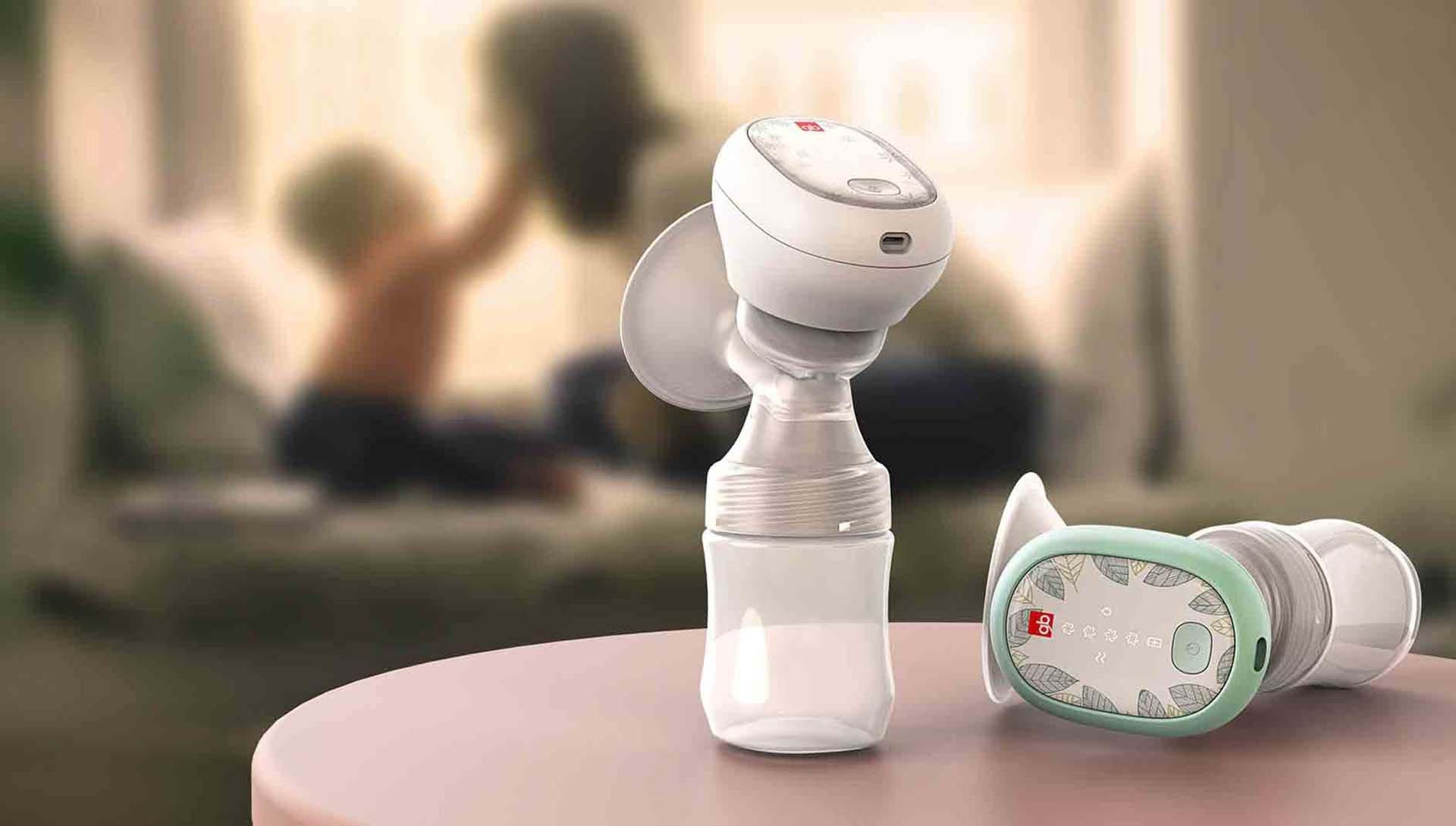 一体式吸奶器