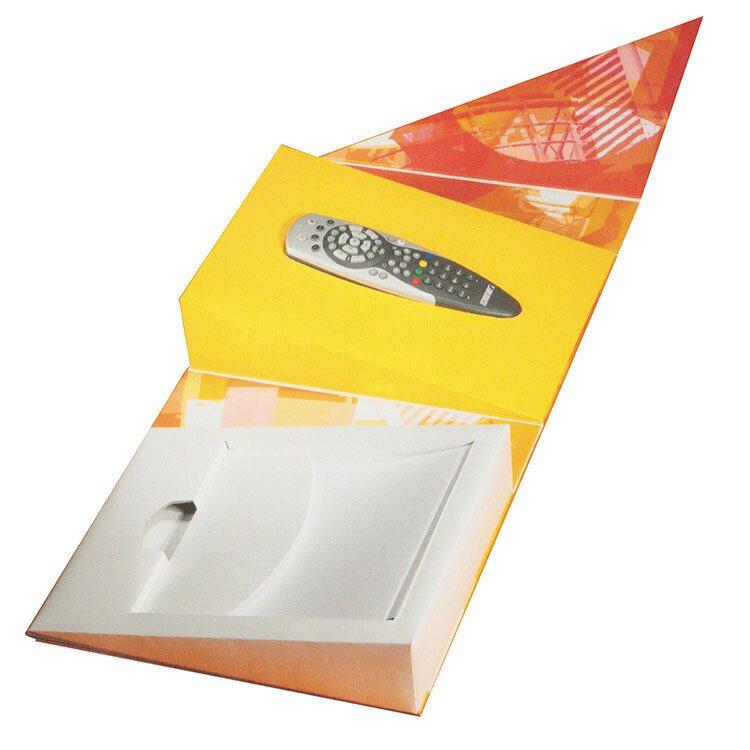 电器产品包装盒遥控器包装盒电子产品展示盒