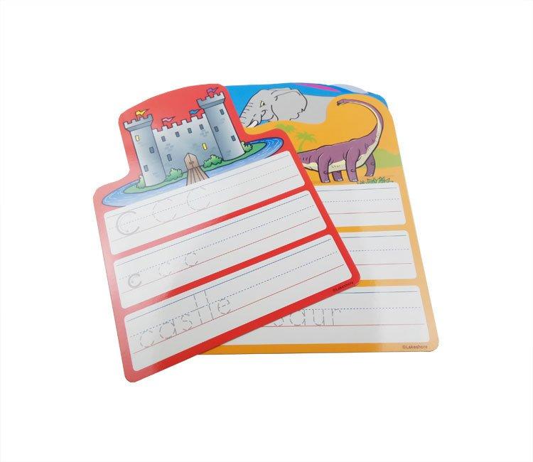 儿童ABC学习卡片可重复书写卡片字母学习卡