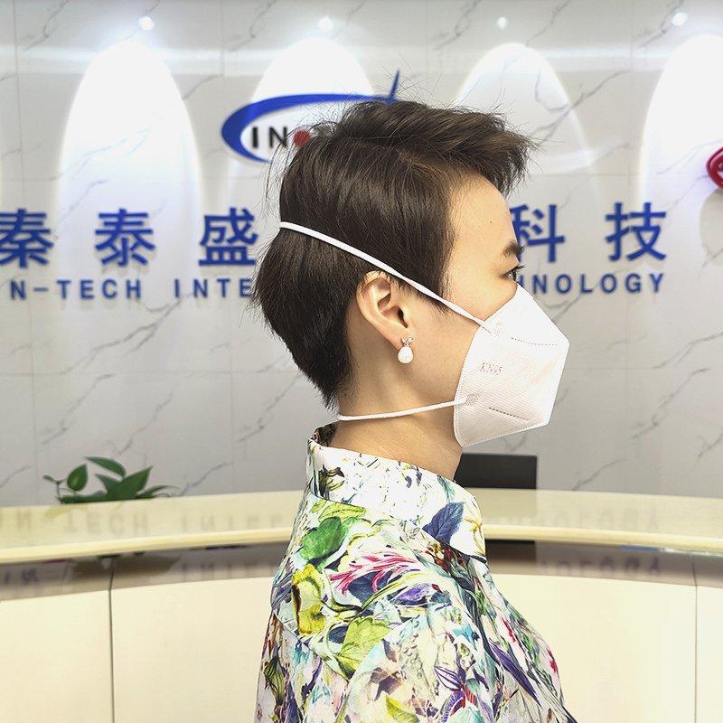 头带式n95折叠口罩机
