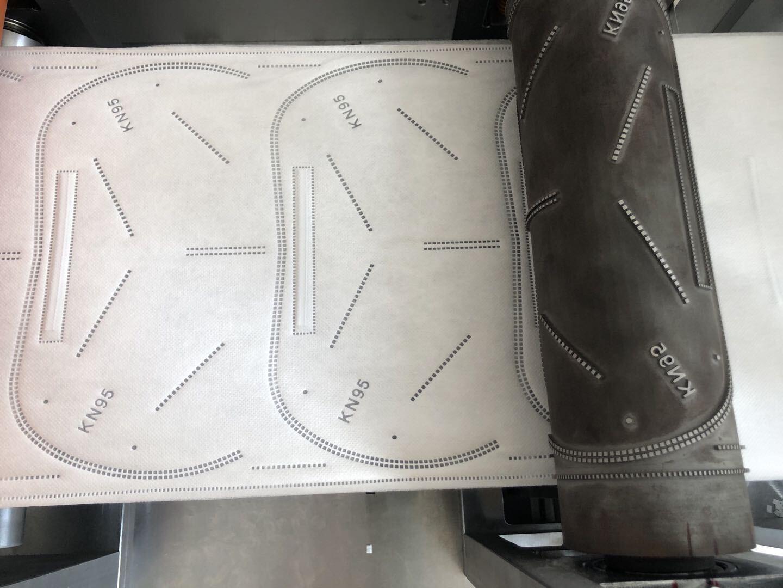 秦泰盛N95口罩机印花模块介绍