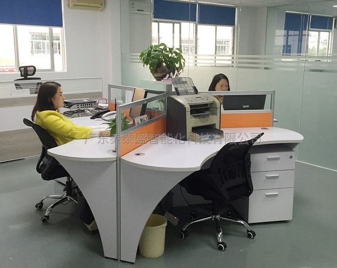 秦泰盛生产全自动口罩机公司环境办公室