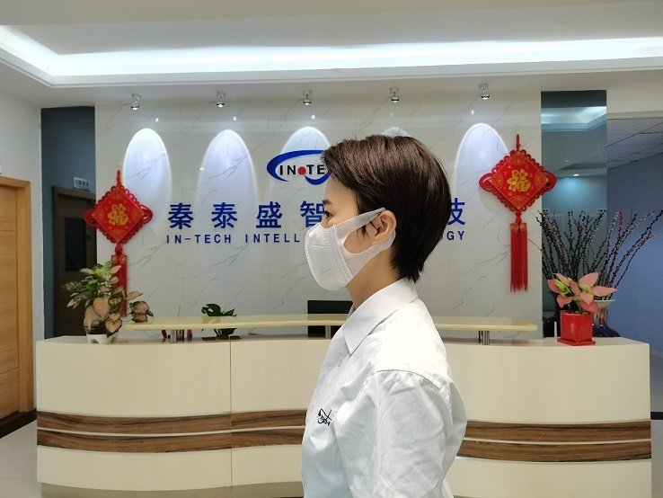 3D立体弹力布折叠口罩机,折叠口罩机,弹力布口罩机,3D立体口罩机,广东秦泰盛智能化科技有限公司