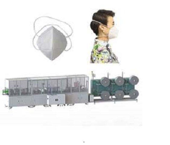 全自动头带式折叠口罩一体机