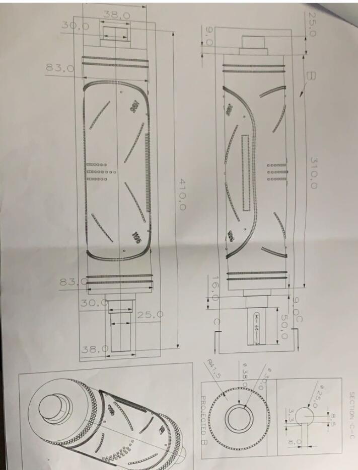 口罩机齿模压花辊设计编程技术分享
